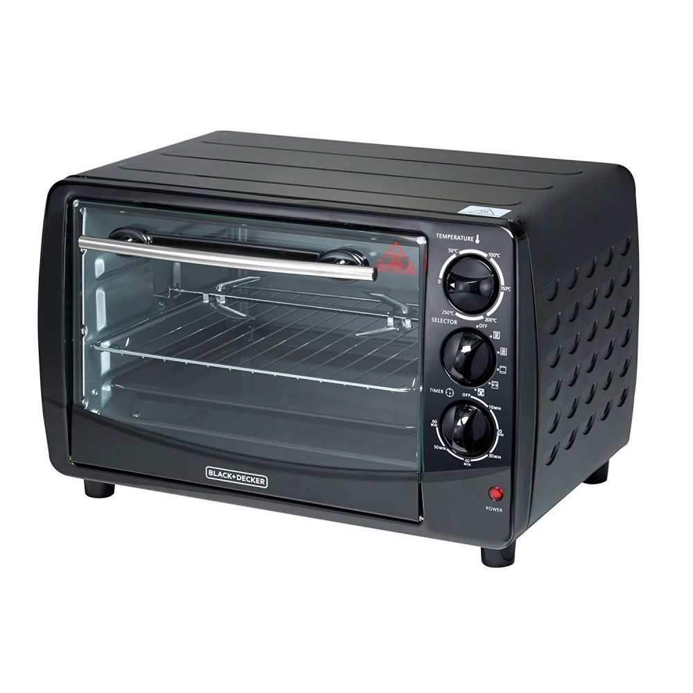BLACK & DECKER TOASTER OVEN WITH ROTISSERIE TRO50-B5 1500W 28L BLACK