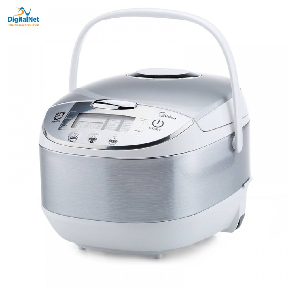 MIDEA MULTIFUNCTION COOKER 1.8 LITER SILVER