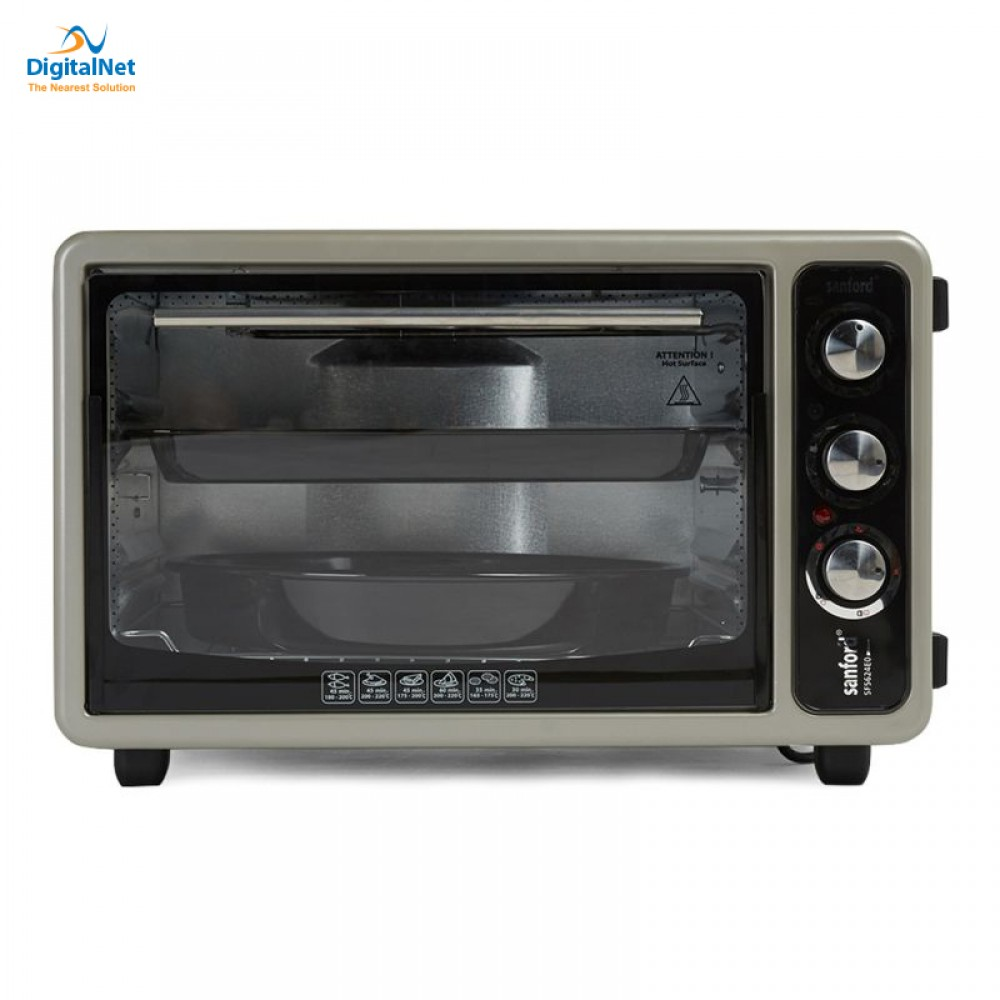 SANFORD ELECTRIC OVEN SF5624EO 40L 2IN1 GRAY