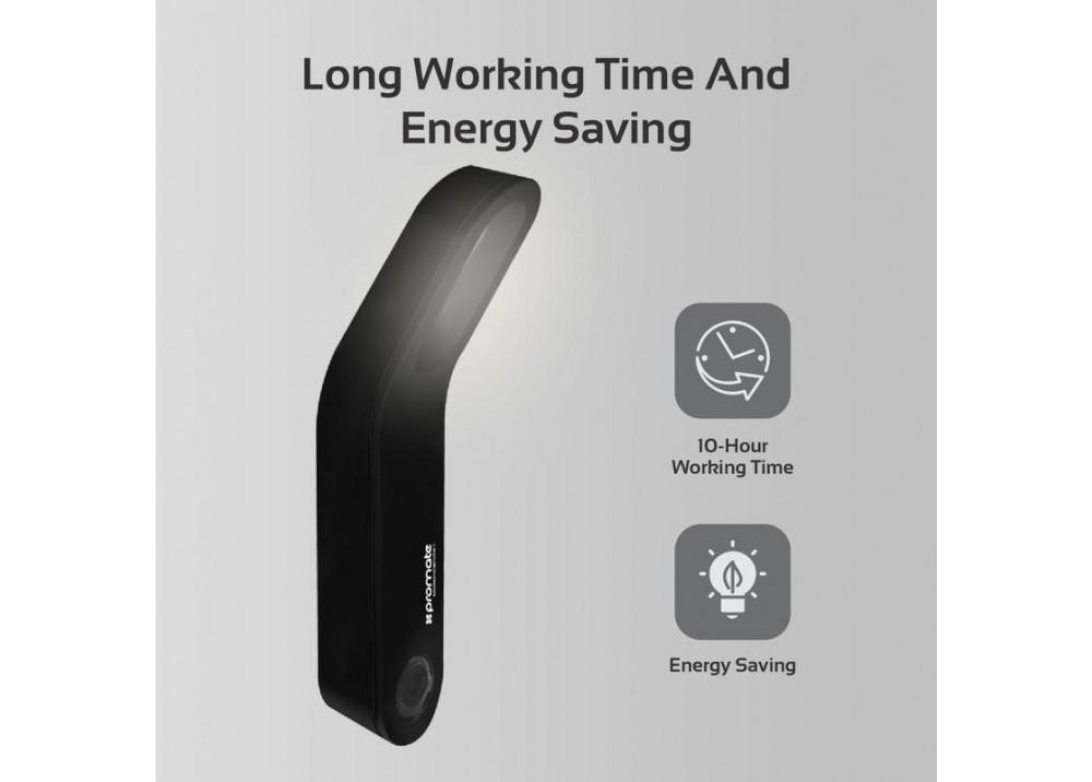 PROMATE ENERGY SAVING LED LIGHT WITH MOTION SENSOR CANDLE-1 BLACK