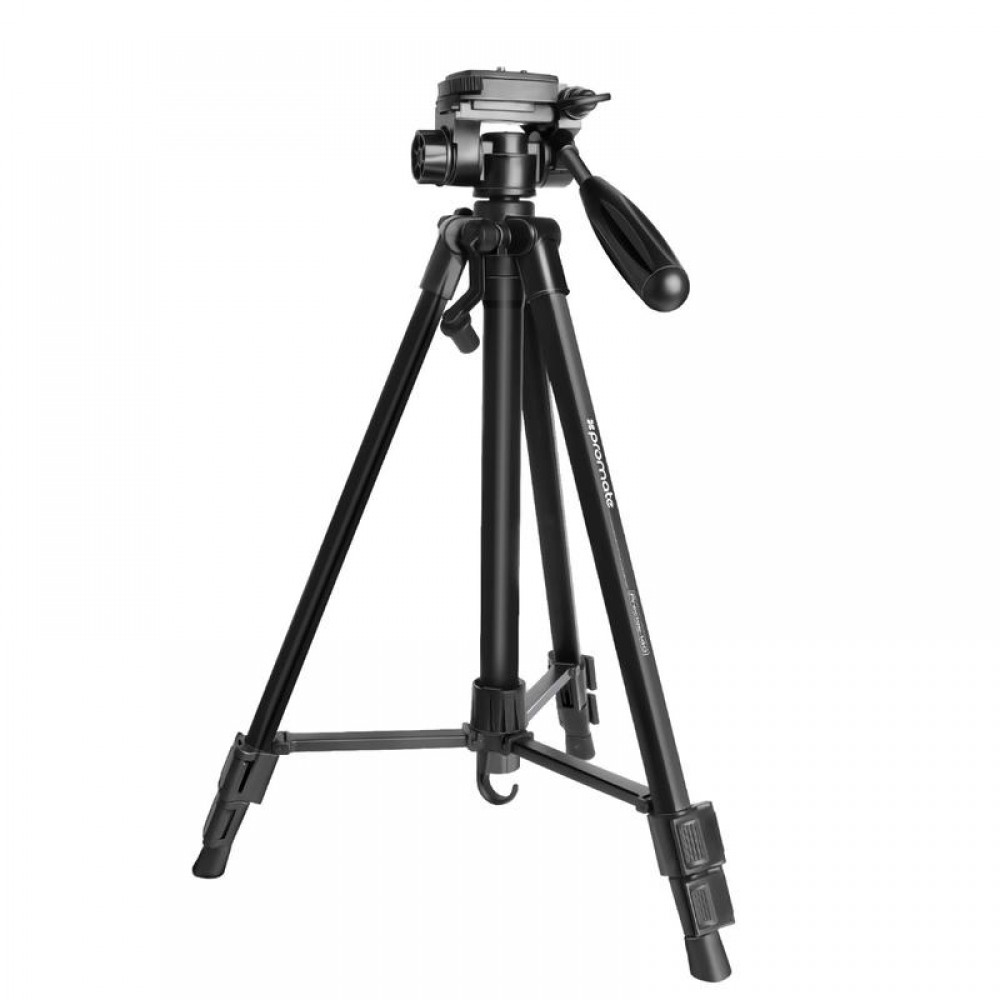PROMATE TRIPOD RECISE-140 3-SECTIONS ALUMINIUM 140 cm BLACK