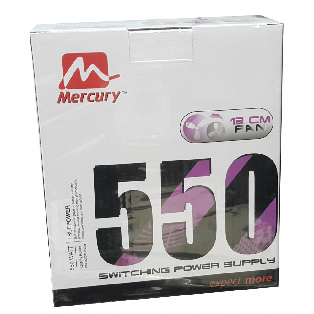 MERCURY POWER SUPPLAY 24PIN SATA 550W