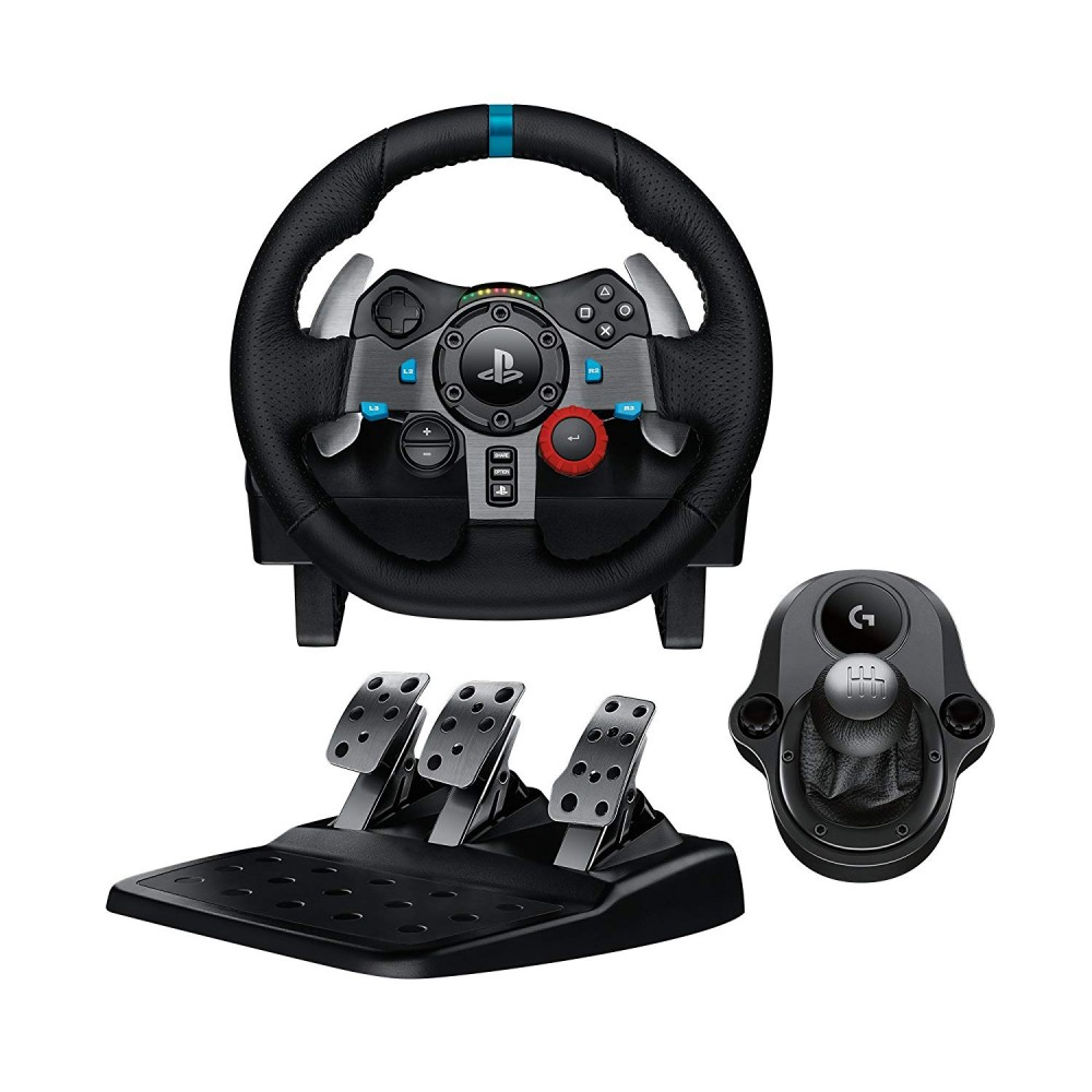 LOGITECH GAMING WHEEL G29 FOR PS4 & PS3 & PC BLACK