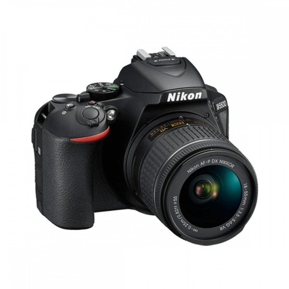 NIKON CAMERA D5600 18.55mm LENS KIT BLACK