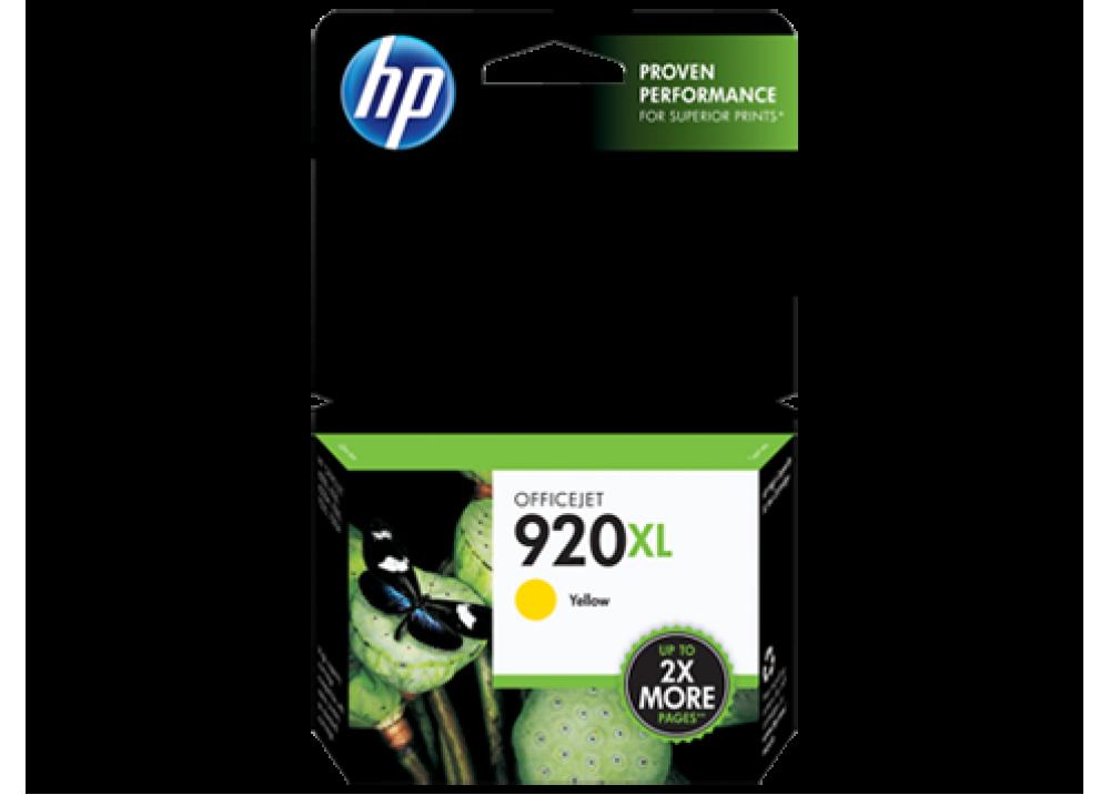 HP 920XL YELLOW ORIGINAL INK CARTRIDGE