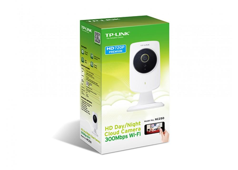 TP-LINK NC260 HD DAY / NIGHT WI-FI CAMERA WHITE