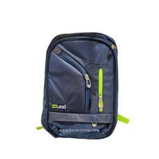 """ليكسي حقيبة LP.1710 19""""  سحاب أخضر / أزرق داكن"""