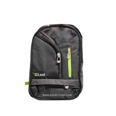 """ليكسي حقيبة LP.1710 19""""  سحاب أخضر / أسود"""