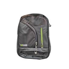 """ليكسي حقيبة LP.1710 19""""  سحاب أخضر/رمادي"""