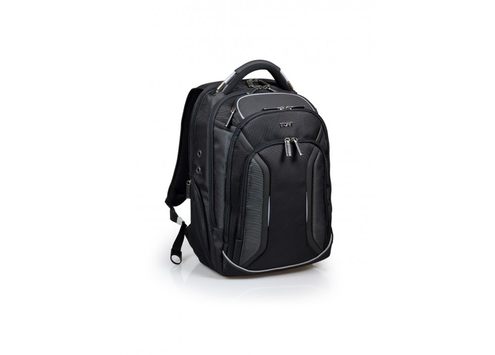 "PORT LAPTOP BAG BACKPACK MELBOURNE 15.6"" BLACK"