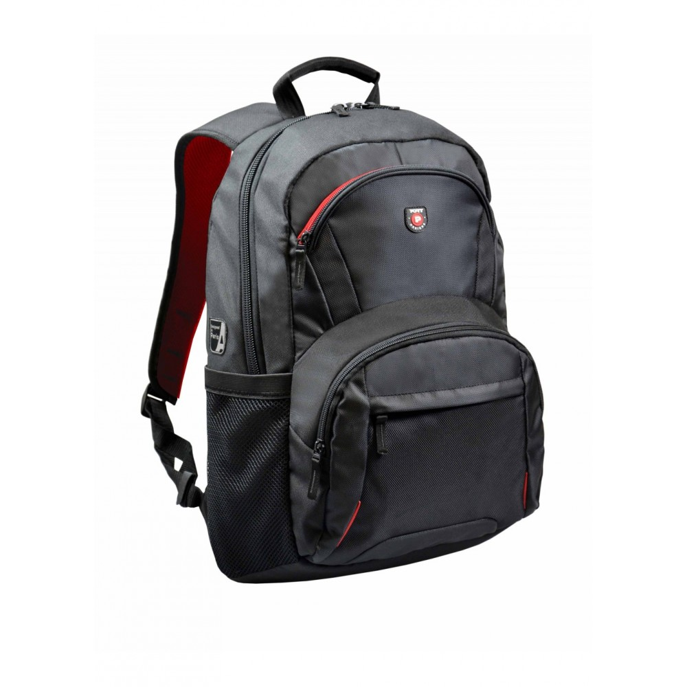 "PORT LAPTOP BAG BACKPACK HOUSTON 17.3"" BLACK"