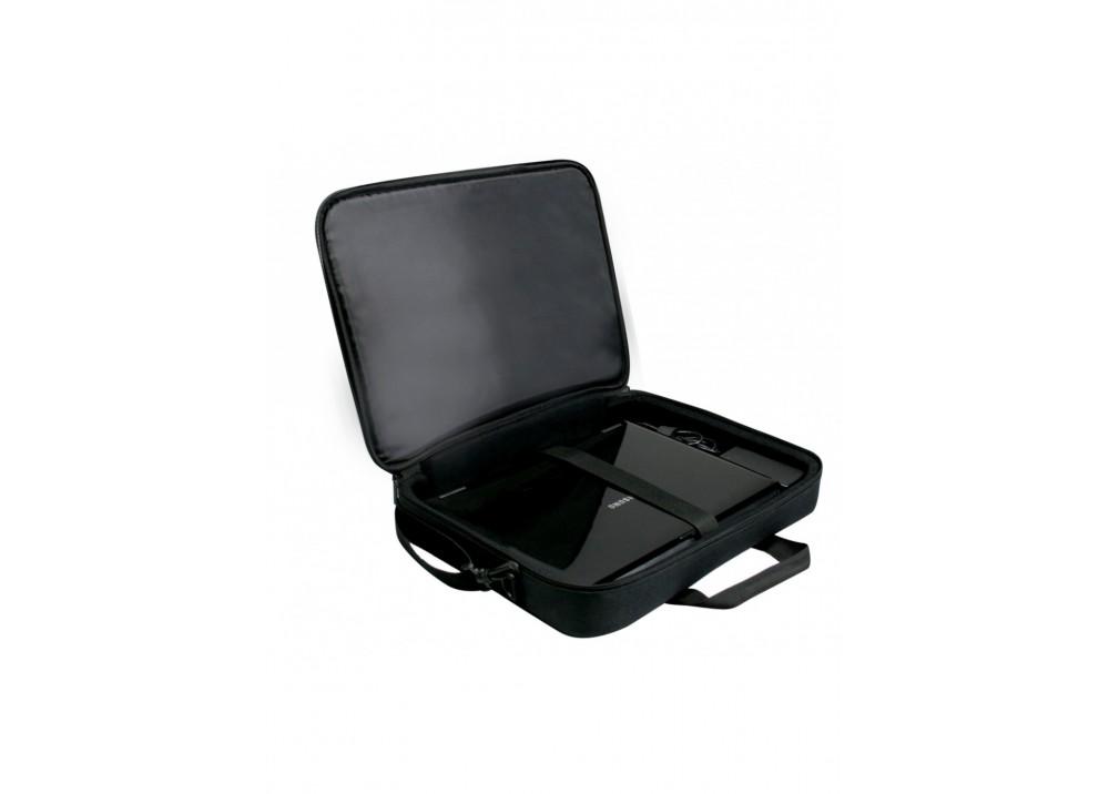 """PORT LAPTOP BAG HANOI CLAMSHELL 15.6"""" BLACK"""