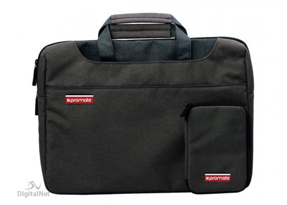 "PROMATE LAPTOP BAG DESIRE LARGE 15.6"" BLACK"