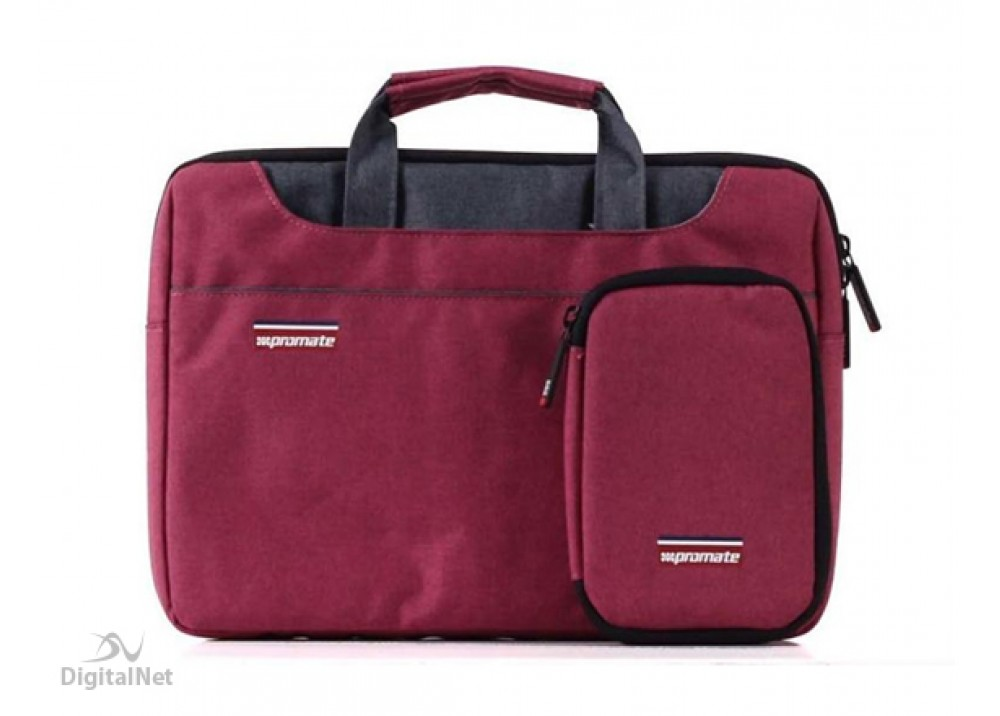 """PROMATE LAPTOP BAG DESIRE SMALL10.5"""" RED"""