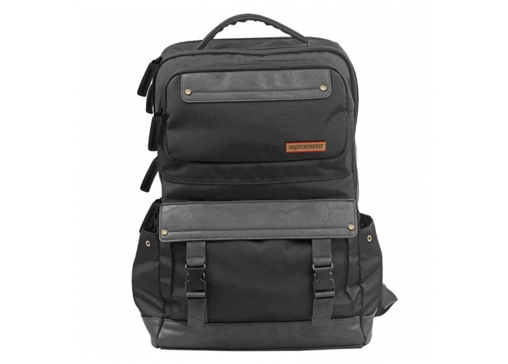 "PROMATE BAG DORIC BLACK 15.6"""