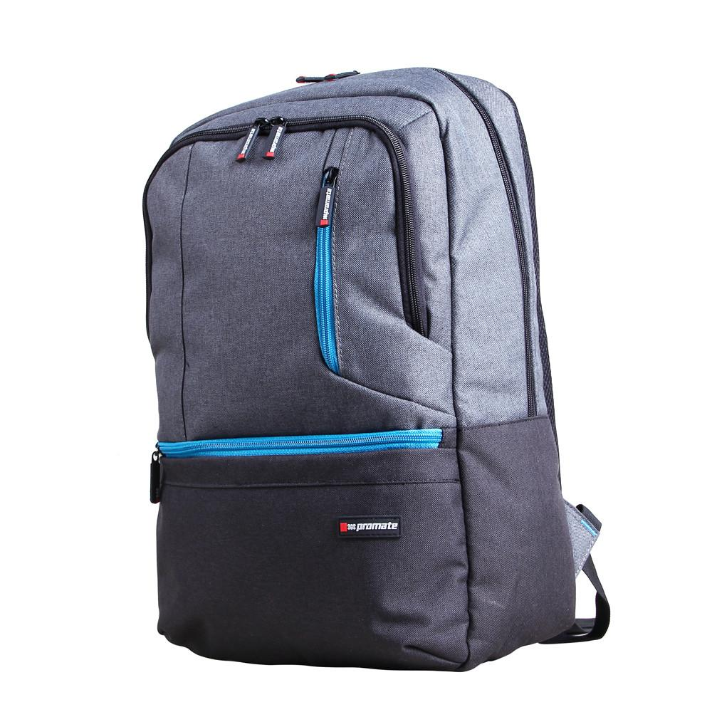 "PROMATE ASCEND-BP ACCENTED15.6"" LAPTOP BACKPACK WITH MULTIPLE POCKETS"
