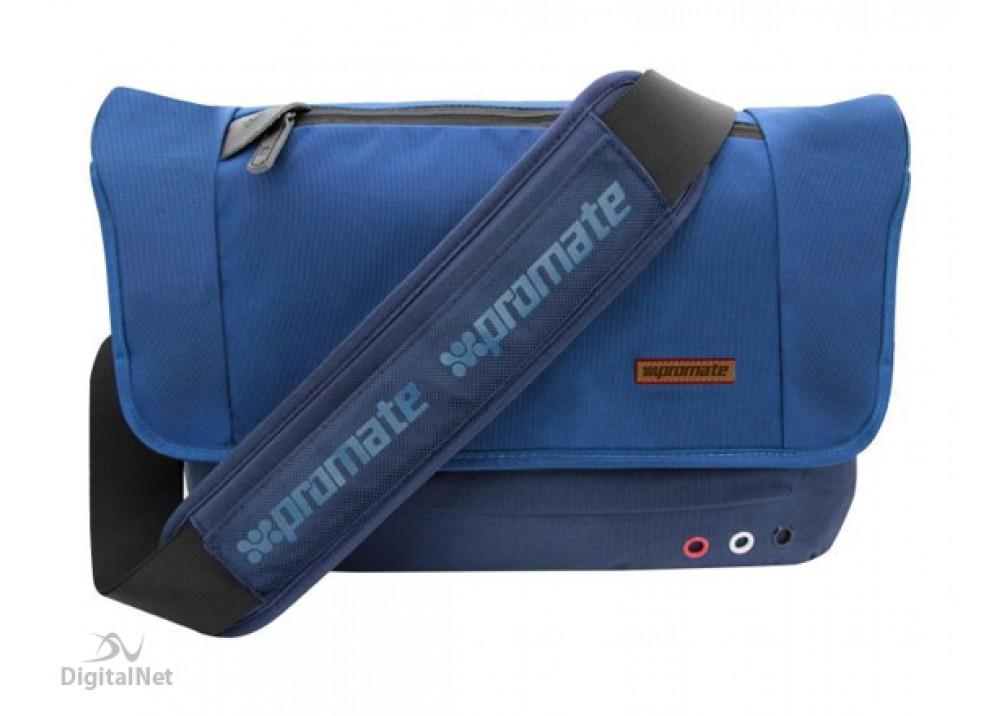 """PROMATE LAPTOP BAG AZZURE-L 15.6"""" BLUE"""