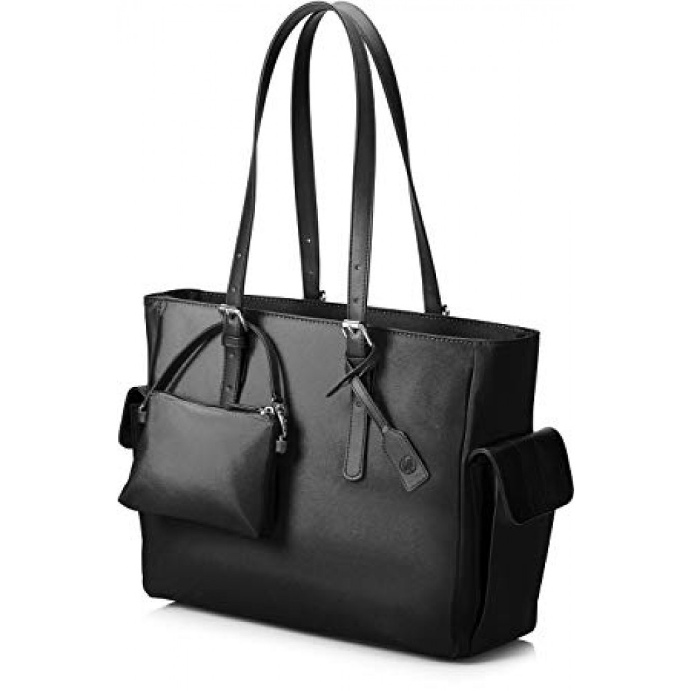 "HP LAPTOP BAG TOTE EUROP-ENGL LOCAL TOPLOAD FOR LADIES 14"" BLACK"