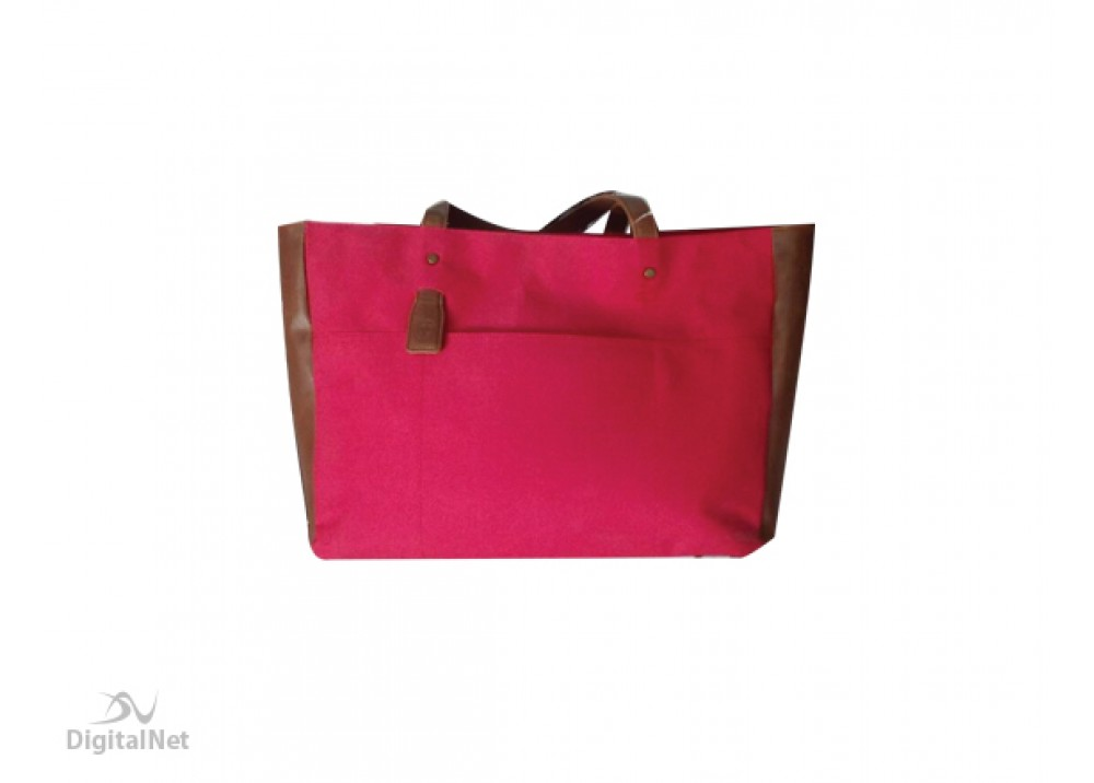 "HP LAPTOP BAG TOTE EUROP-ENGL LOCAL TOPLOAD FOR LADIES 14"" RED"