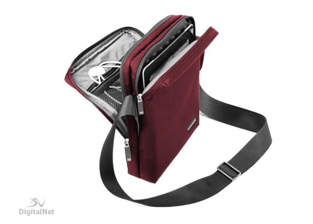 """PROMATE BAG FOR TABLET QUIRE 10.5"""" MAROON"""