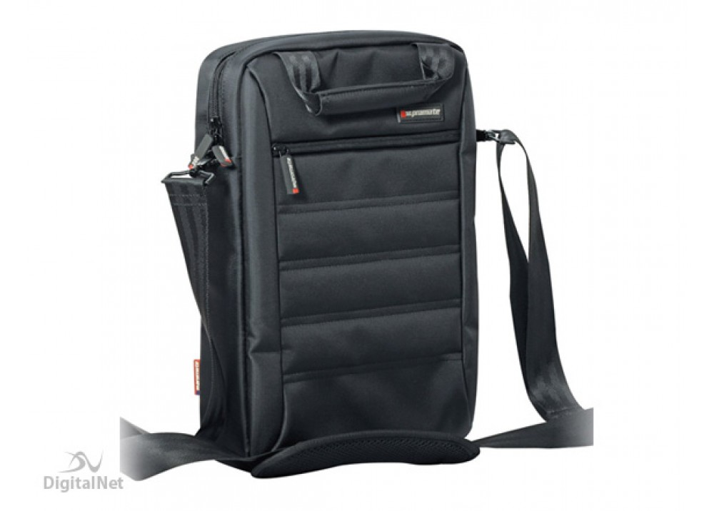 "PROMATE LAPTOP BAG HEAVY DUTY REBEL-MB 13.3"" BLACK"