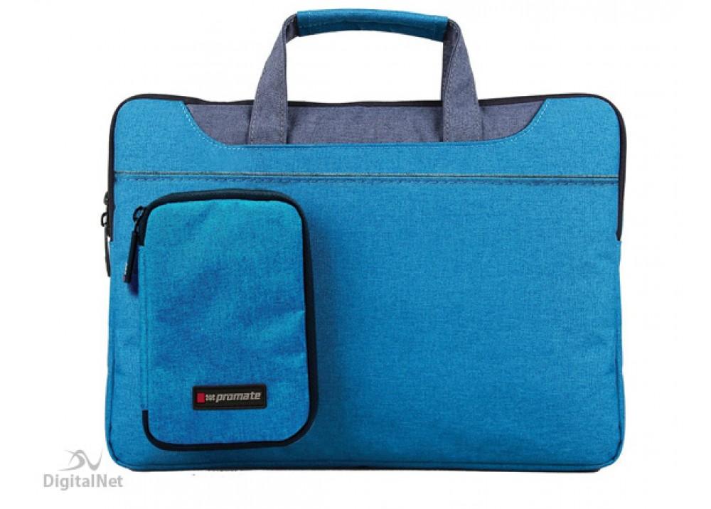 "PROMATE LAPTOP BAG CLASSIC ELEGANT DESIRE-L 15.4"" BLUE"