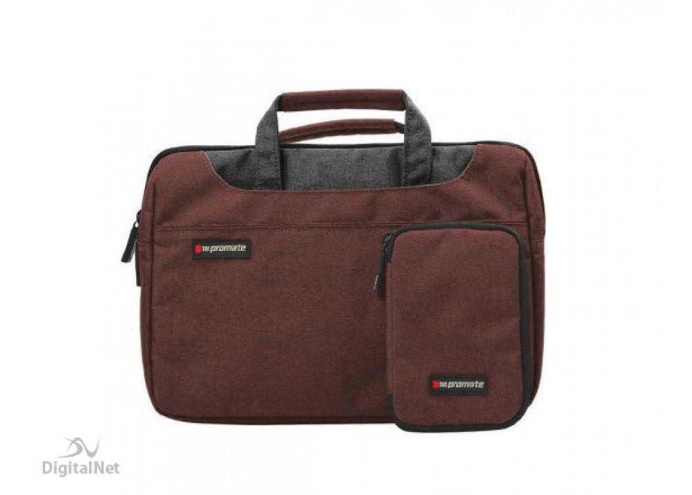 "PROMATE LAPTOP BAG DESIRE-S  11.6"" BROWN"