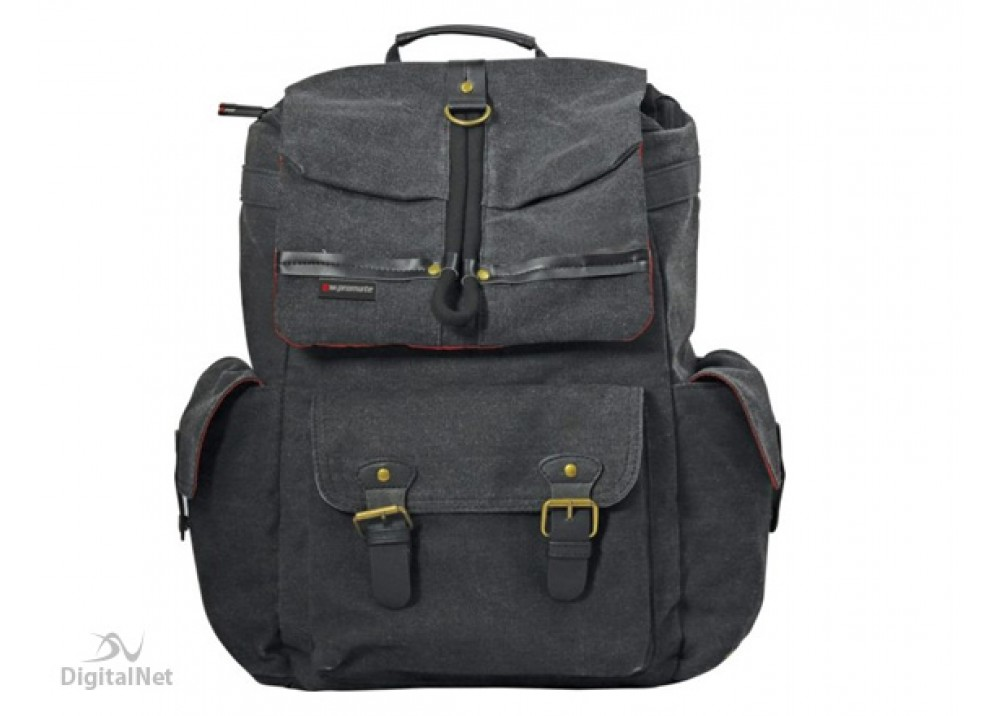 "PROMATE LAPTOP BAG STYLISH LIGHTWEIGHT ROVER 15.6"" GREY"