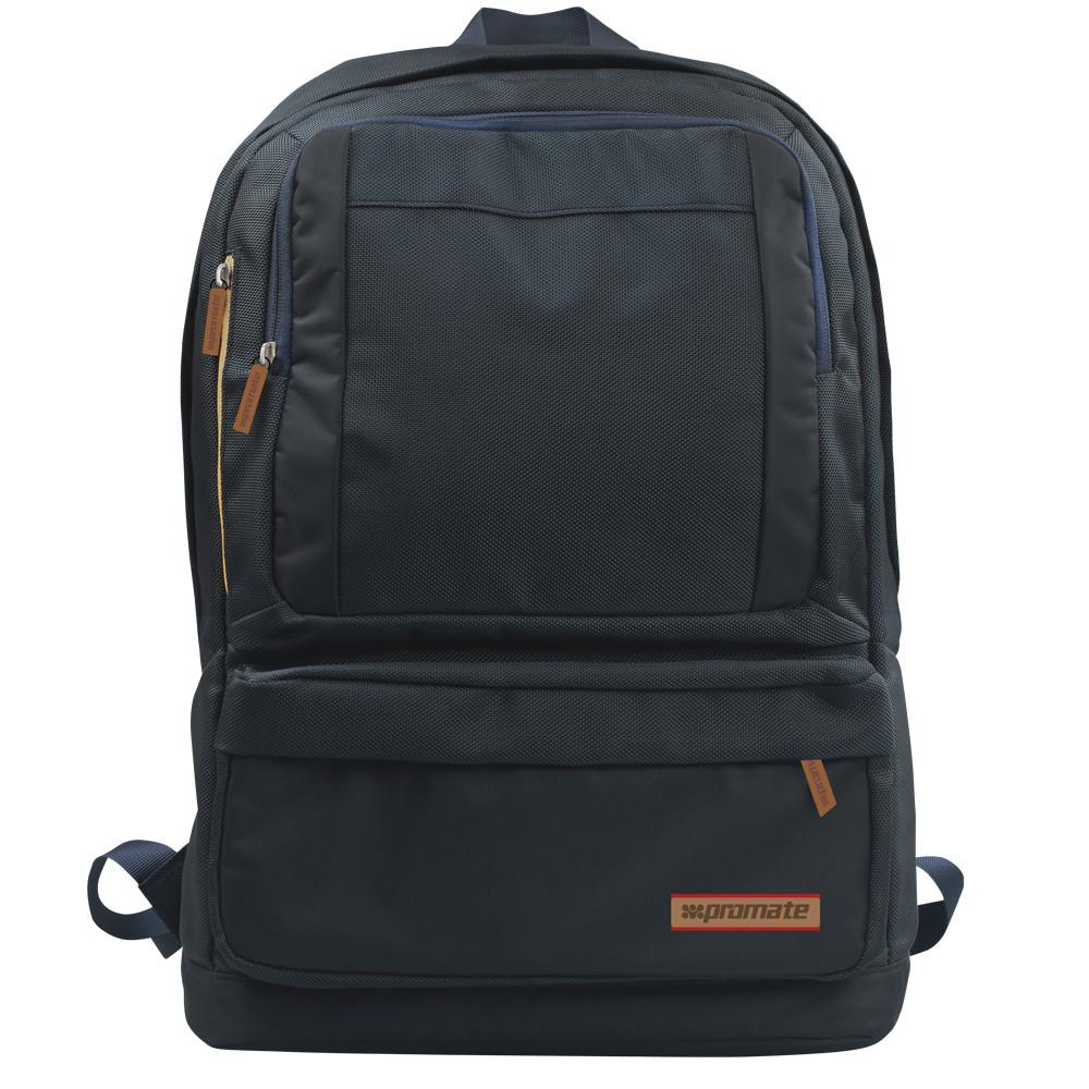 "PROMATE LAPTOP BAG BACKPACK DRAKE LIGHTWEIGHT 15.6"" BLACK"
