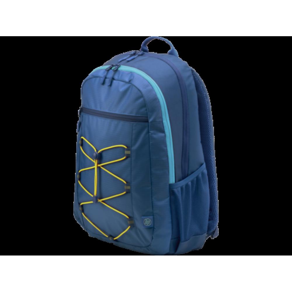 HP LAPTOP BAG 15.6 ACTIVE BACKPACK NAVY BLUE RED