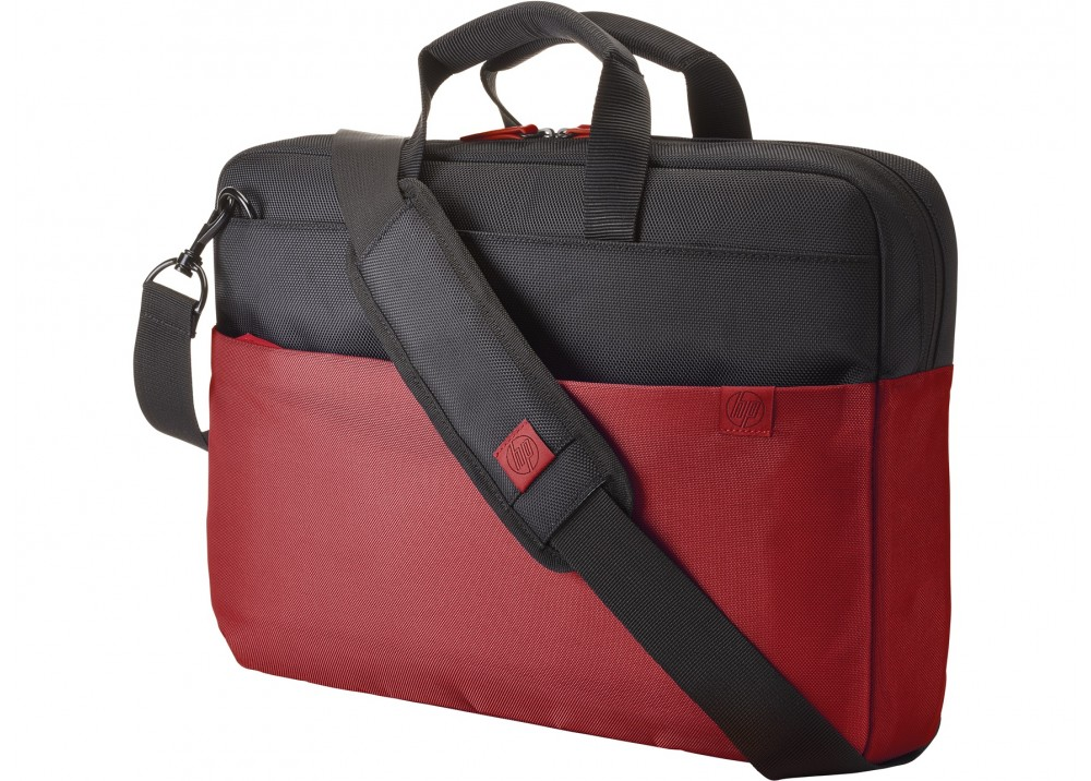 HP LAPTOP BAG 15.6 DUOTONE BRIEFCASE RED