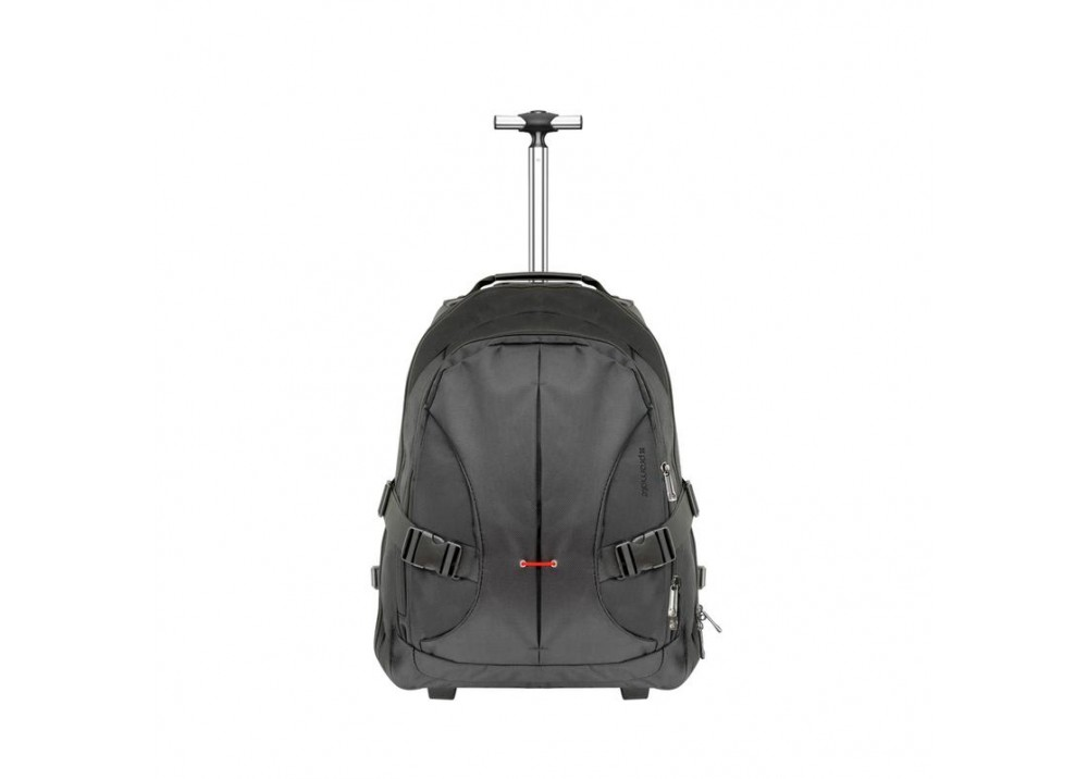 "PROMATE LAPTOP BAG BACKPACK ROVER TROLLEY 18"" BLACK"