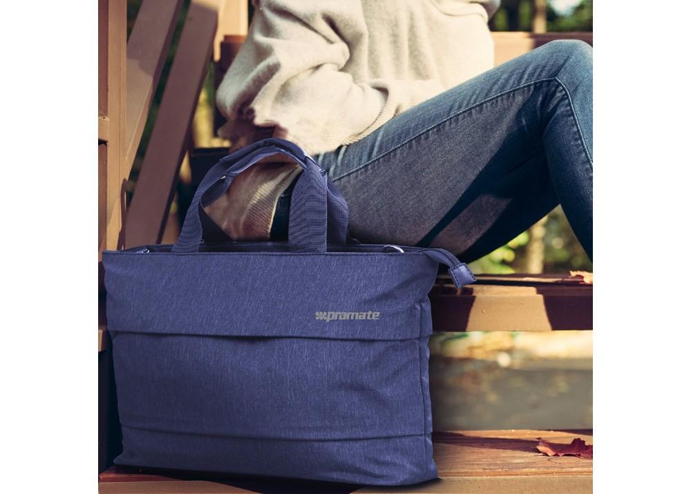 "PROMATE  LAPTOPS BAG DESIRE‐LD.15.6"" BLUE"