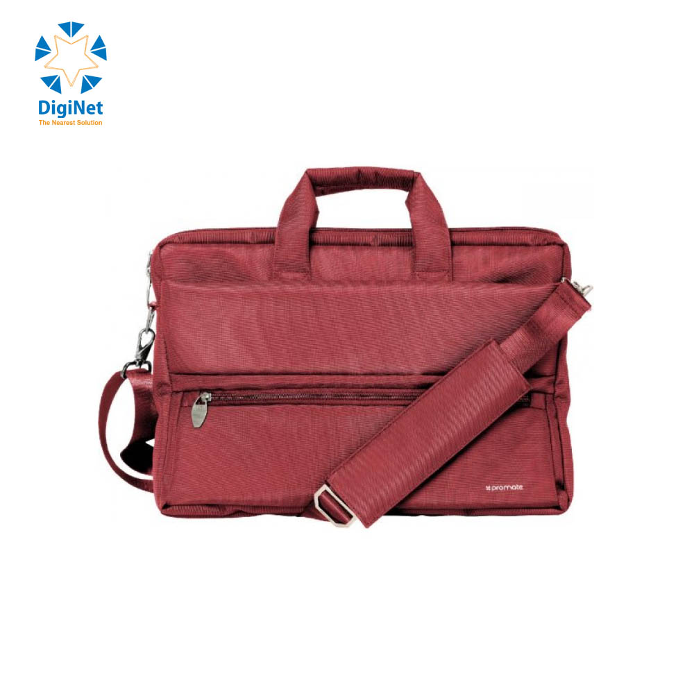 "PROMATE BAG APOLLO-MB 15.6"" RED"