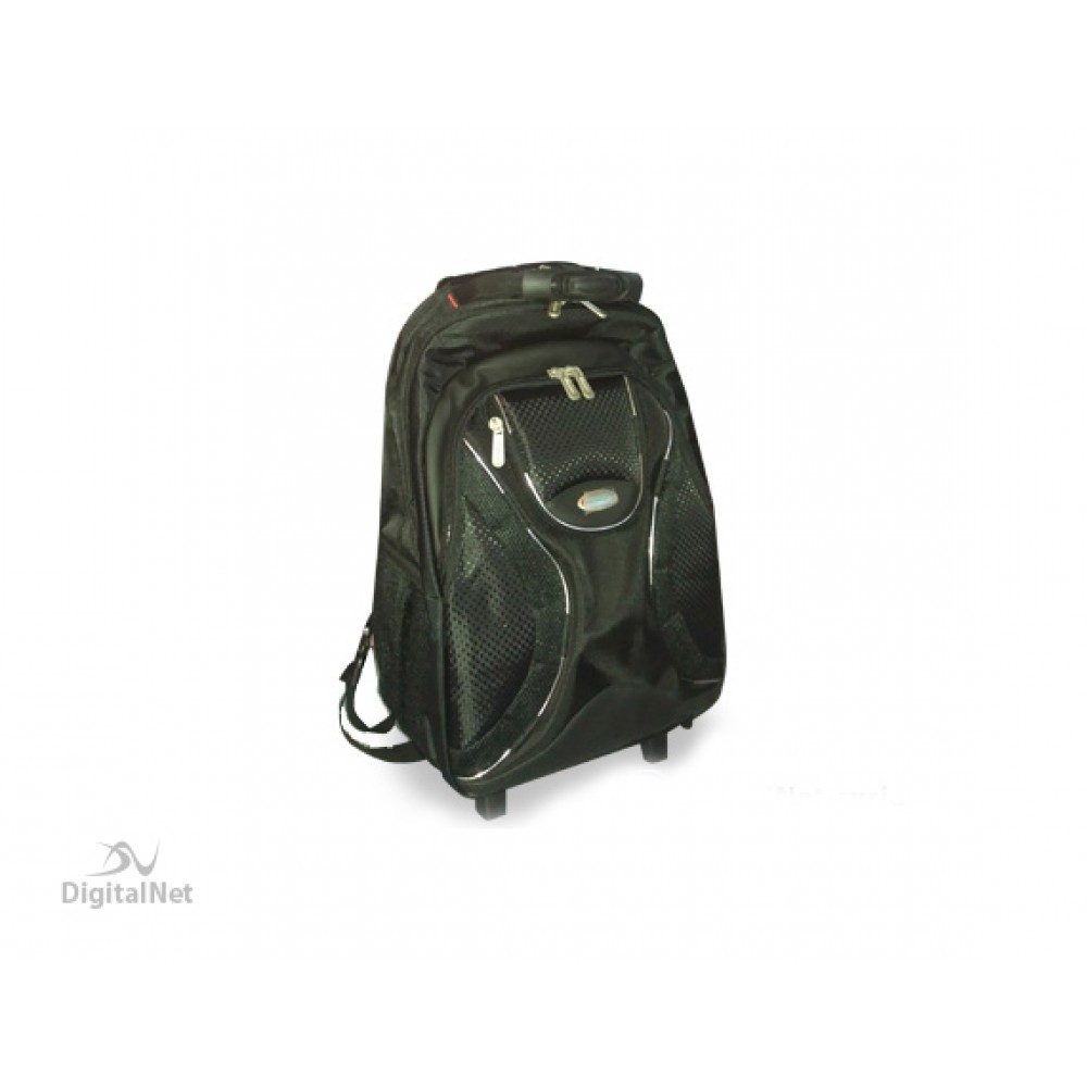 "IMPULSE LAPTOP BAG  BACKPACK 1600 TROLLEY 15.6"" BLACK"