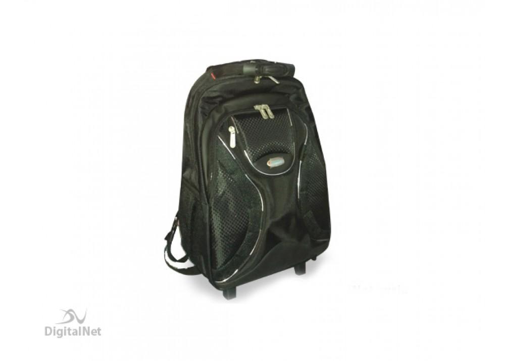 "IMPULSE LAPTOP BAG 1600 BAG PACK TROLLEY 15.6"" BLACK"