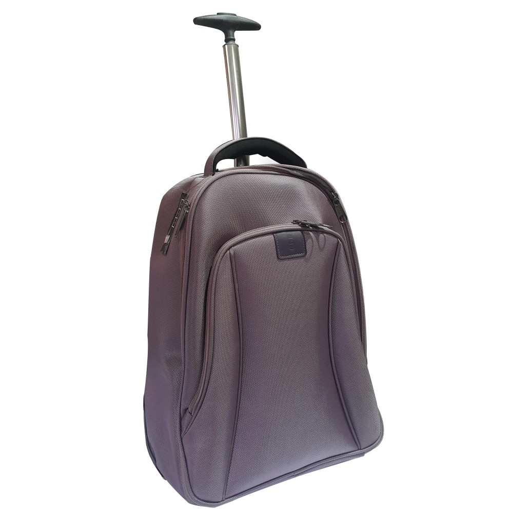 "MISAKO LAPTOP BAG BAGPACK 3105 TROLLEY 15.6"" PURPLE"