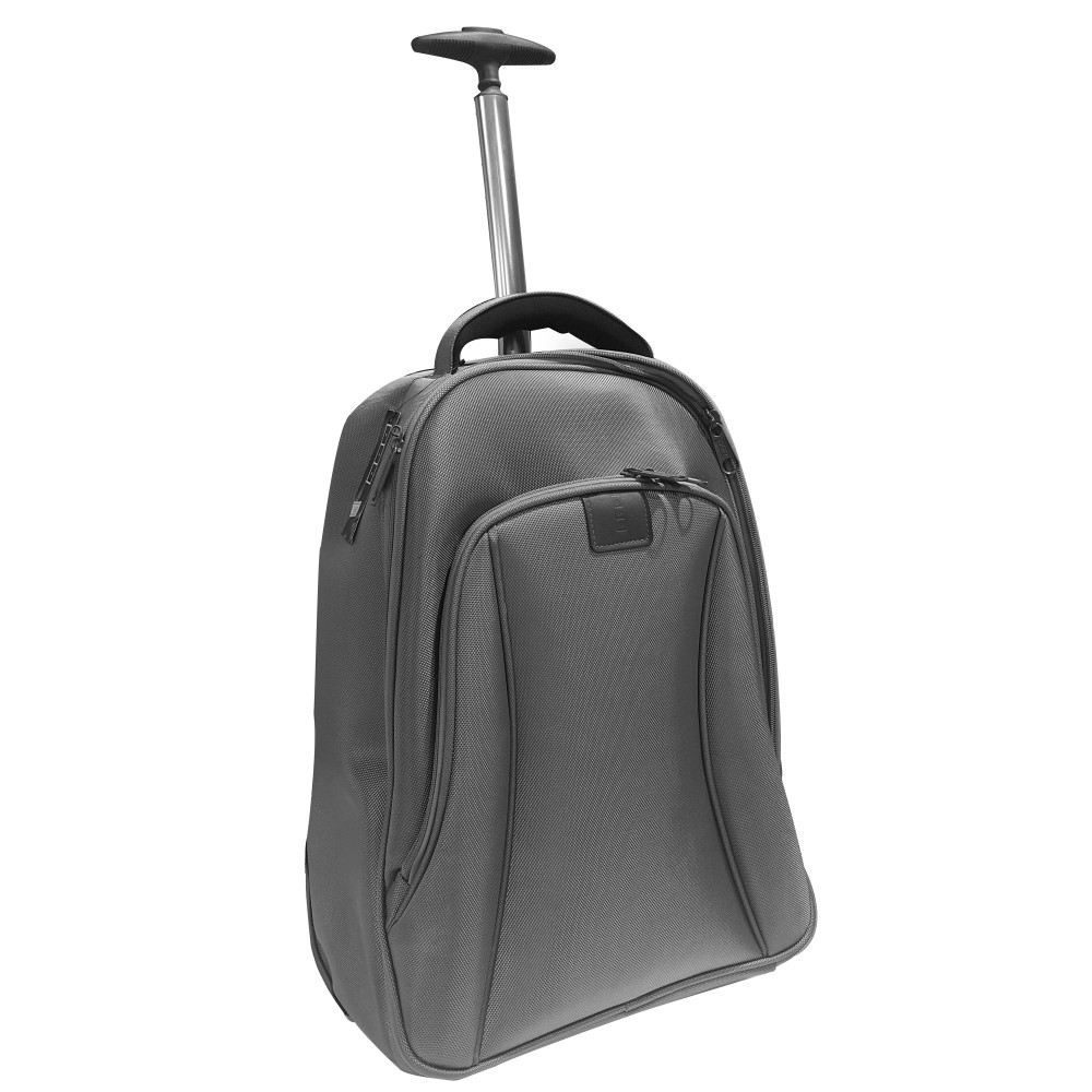 "MISAKO LAPTOP BAG BAGPACK 3105 TROLLEY 15.6"" SILVER"