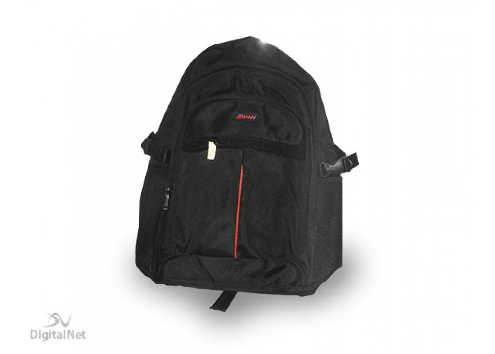 "SIHAN LAPTOP BAG RX-028 BACKPACK 15.6"" BLACK"