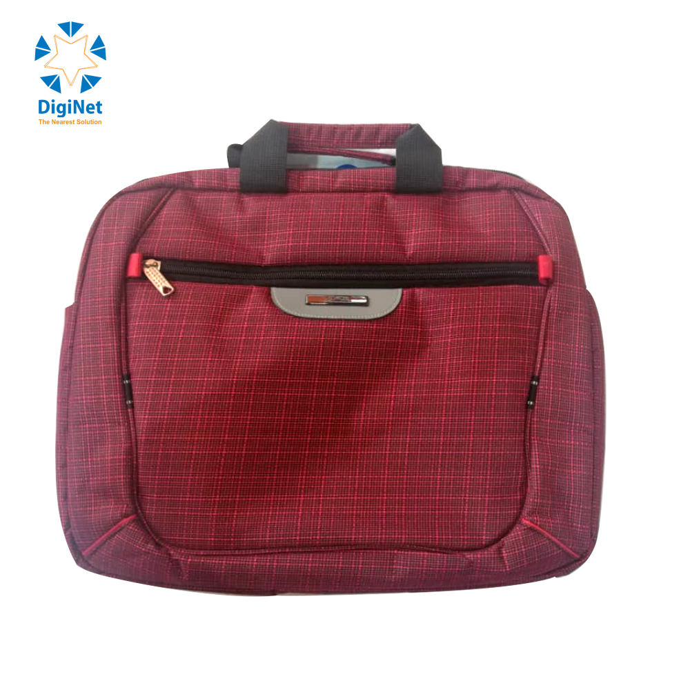 "CANVAS LAPTOP 15.6"" RED"
