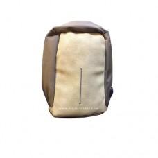 """بدون ماركة تجارية حقيبة ظهر 15.6"""" جلد بني"""