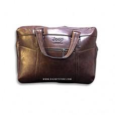 """جيب حقيبة لابتوب  15.6"""" بني"""