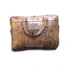 """جيب حقيبة لابتوب  15.6"""" بني غامق"""