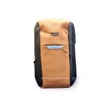 """جيب حقيبة ظهر 15.6"""" بني"""