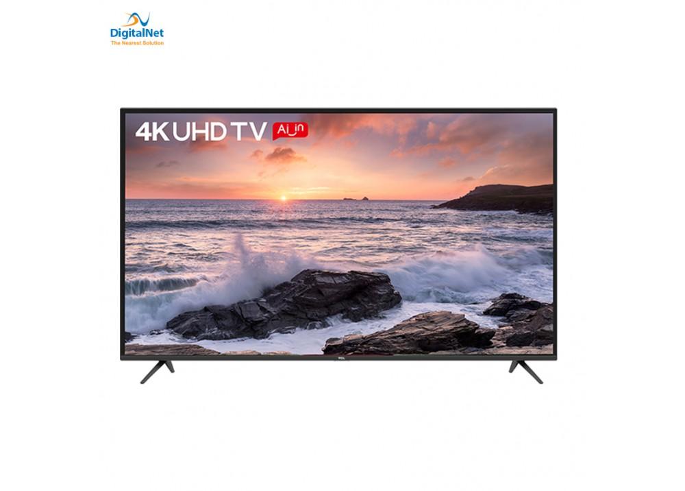 """TCL LED TV 50"""" P8500M ANDROID 4K BLACK"""