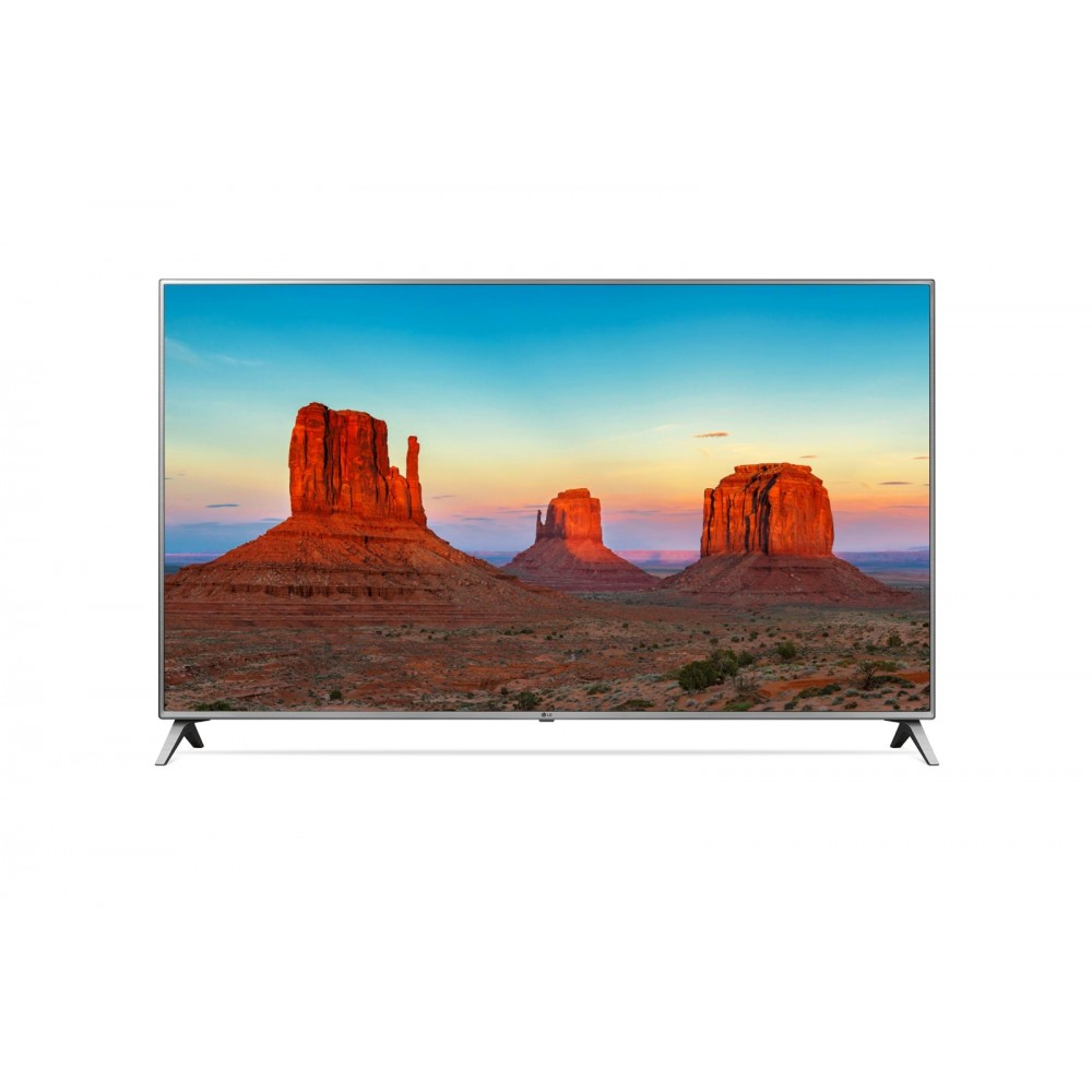 "LG LED TV 75"" UK7050 ULTRA HD 4K SMART WITH RECIVER SILVER"