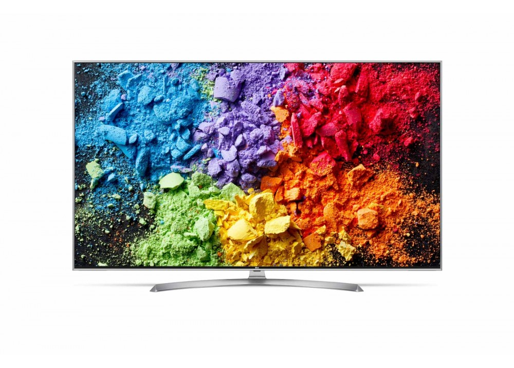 "LG LED TV 55"" SK7900PVB SUPER UHD 4K SMART WITH RECIVER SILVER KOREA"
