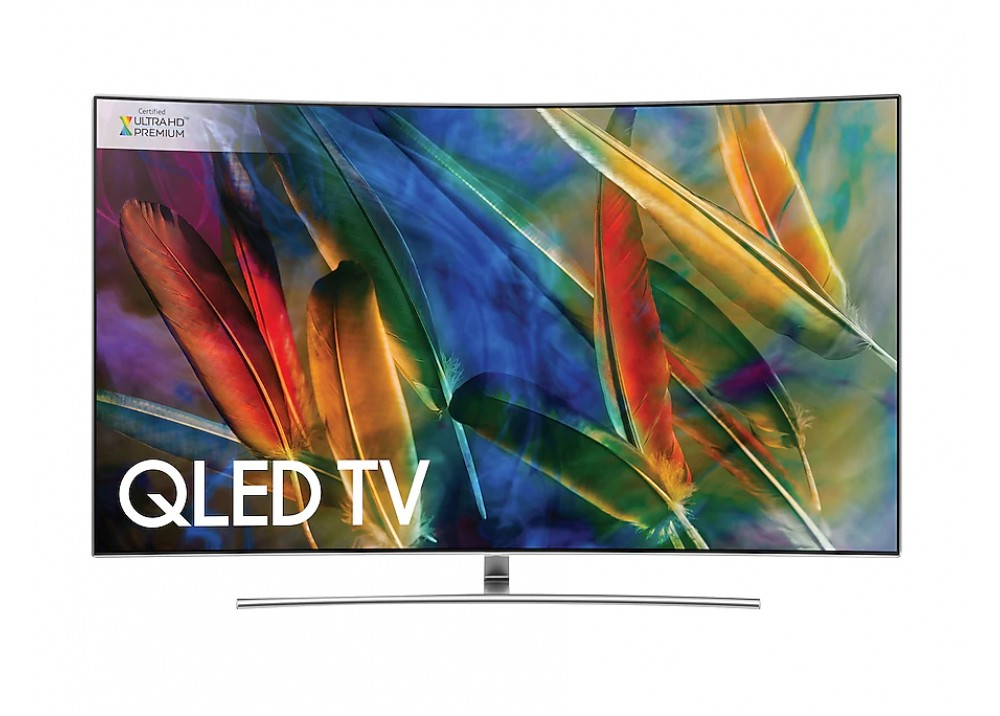 "SAMSUNG QLED CURVED TV 65"" Q8CAMK UHD 4K SMART SILVER EGYPT"