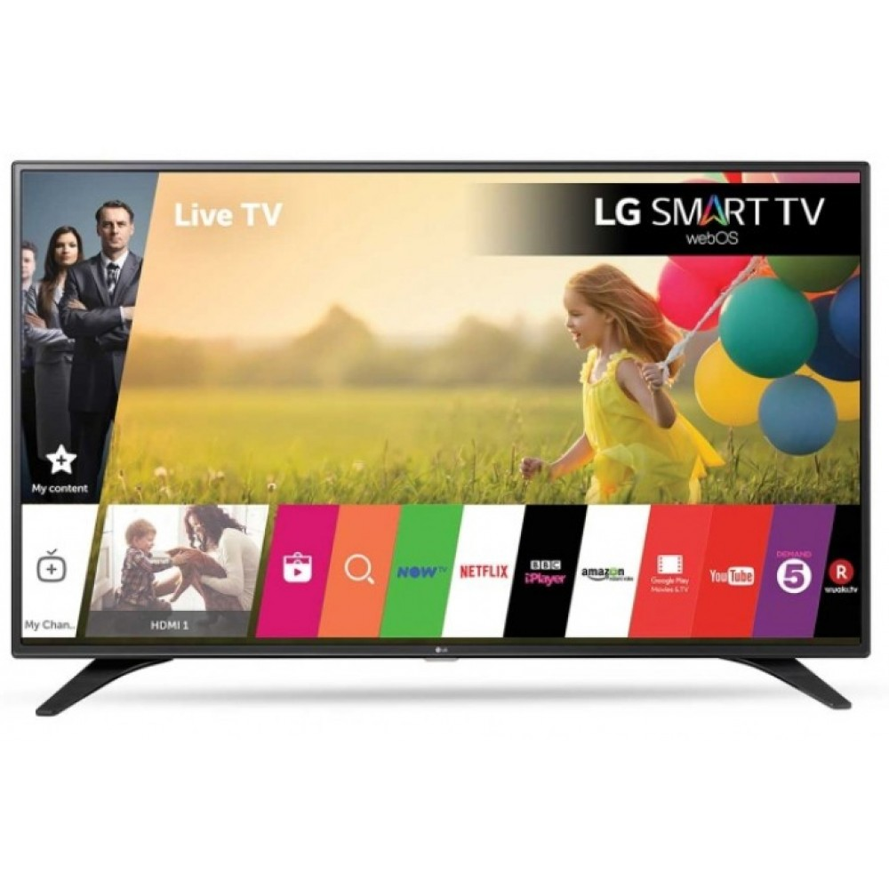 "LG LED TV 32"" LJ610U FULL HD SMART WITH RECIVER BLACK KOREA"