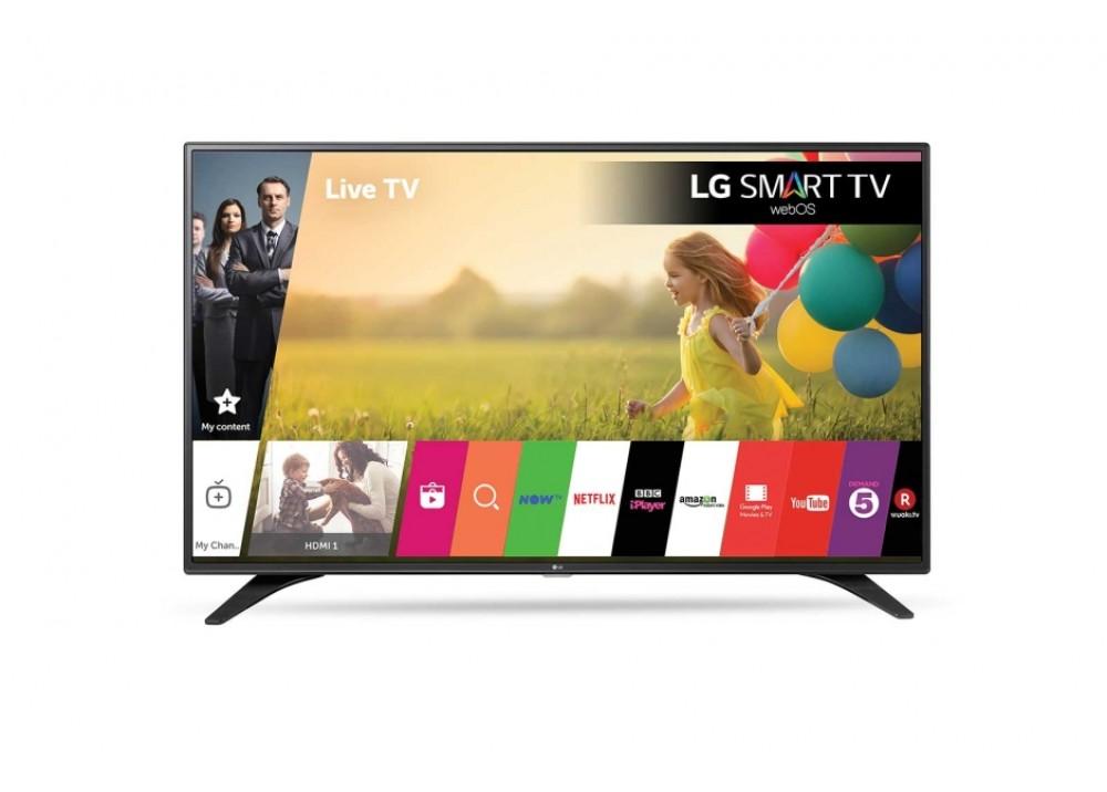 """LG LED TV 32"""" LJ610U FULL HD SMART WITH RECIVER BLACK KOREA"""